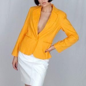 90's Linen blazer